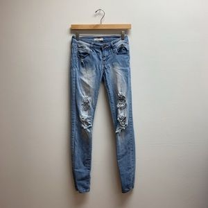 Cello size 1 Distressed Skinny Jeans